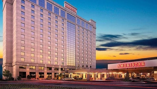 Ameristar Casino Hotel is one of the properties owned by Pinnacle.