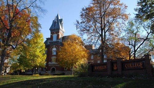 The $250,000 grant is the largest ever received by Franklin College