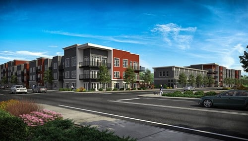 The Breakwater is expected to have its first units available in 2017.