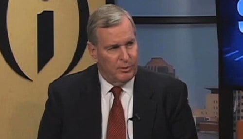 Ballard served two terms as Indianapolis mayor and did not run for a third.