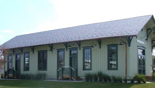 The depot was saved from demolition in the mid-1980s.