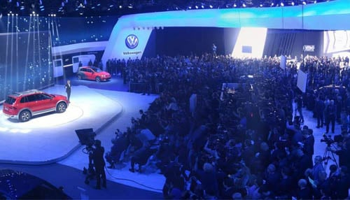 The NAIAS is one of the world's largest automotive trade shows.