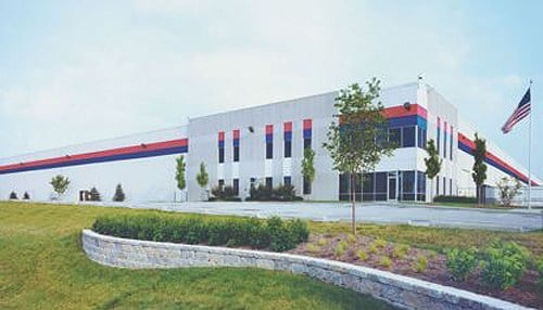 Hachette will soon occupy this building in the Lebanon Business Park.