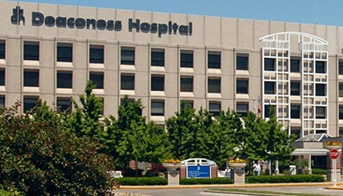 Deaconess Health System has six hospitals in southern Indiana.