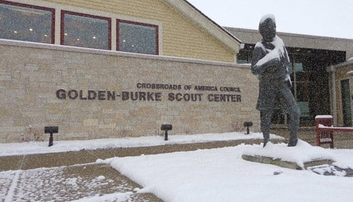The council is headquartered at the Golden-Burke Scout Center in Indianapolis.