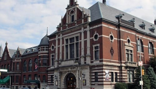 The Athenaeum was built in 1893.