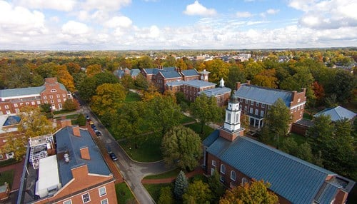 """Wabash College ranked the highest among Indiana schools in the """"All Alumni"""" category."""