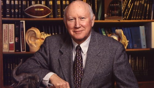 Hulbert was president from 1976-2004.