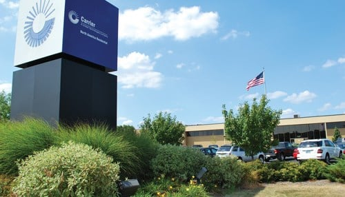 Some 1,400 employees will be out of work once the Indy Carrier plant closes. (Image courtesy of Carrier Corp.)