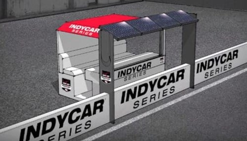 A solar-powered pit stand is one of the ideas for the Think Solar campaign.