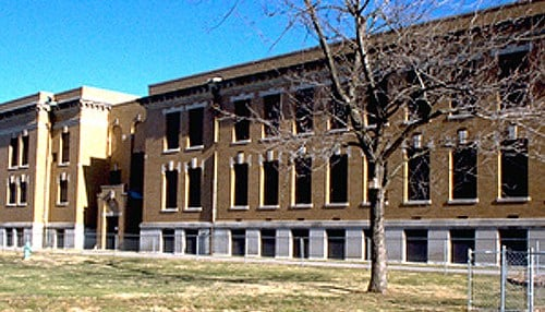 Simpson Hall at the Indiana School for the Deaf has been vacant for over 30 years.