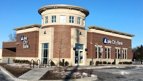 Lake City Bank opened its fourth Indianapolis location in February 2016.