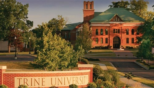 Trine says students can earn money for completed products.