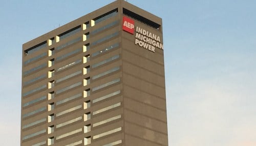 The AEP subsidiary is headquartered in downtown Fort Wayne.
